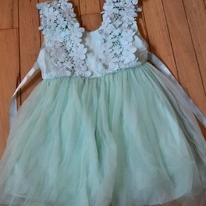 5T Turquoise dress